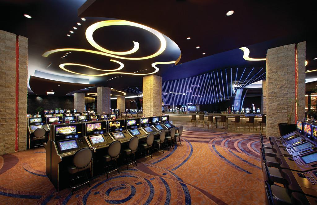 HRH Punta Cana Casino Slots 1 (all carpet less yellow blue stripes bluer) 111411