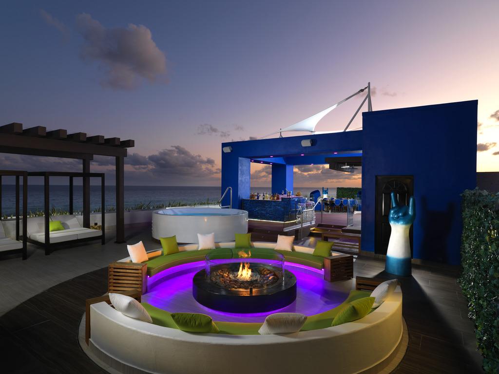 HRH Riviera Maya Rock Star Suite RSS Terrace