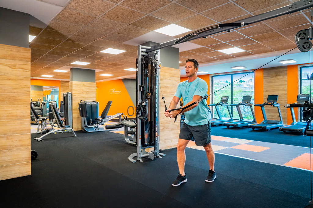 Sanctuary-Cap-Cana-Fitness-Center-Weights