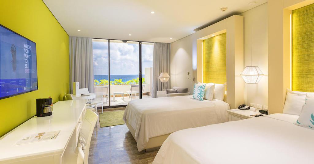 114ParadisusCancun-Paradisus_Luxury_Junior_Suite_Ocean_View_twin_bed