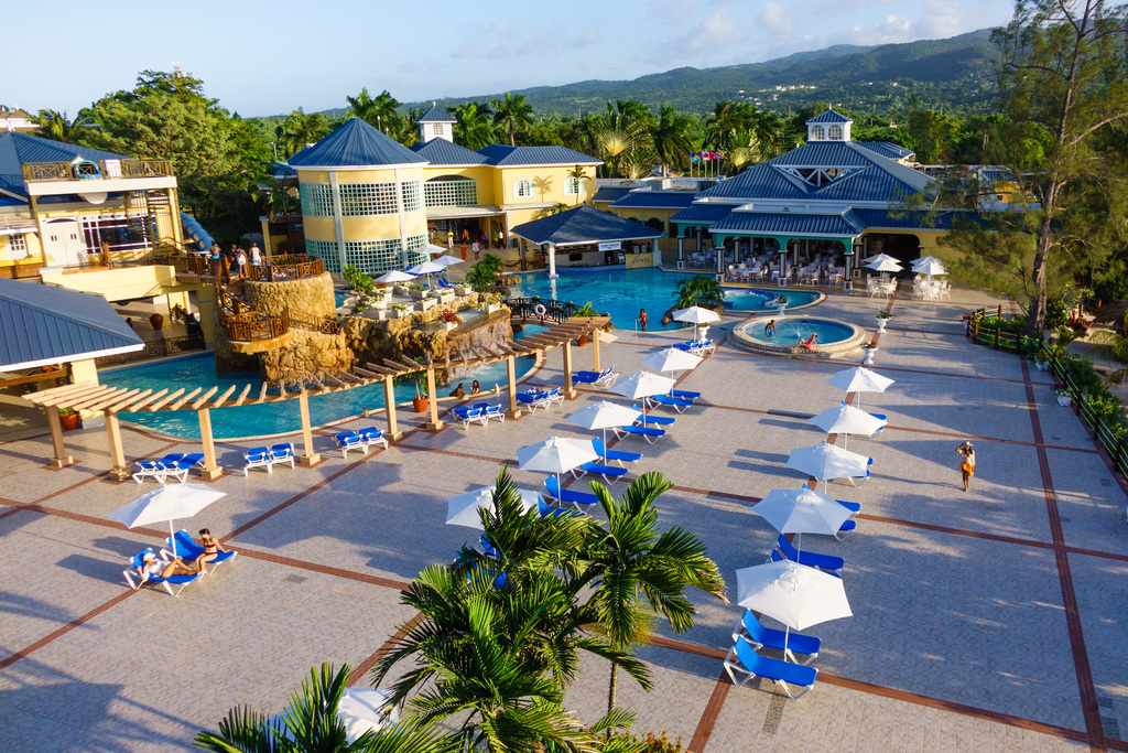 JPC – Main Pool Deck from Rooftop