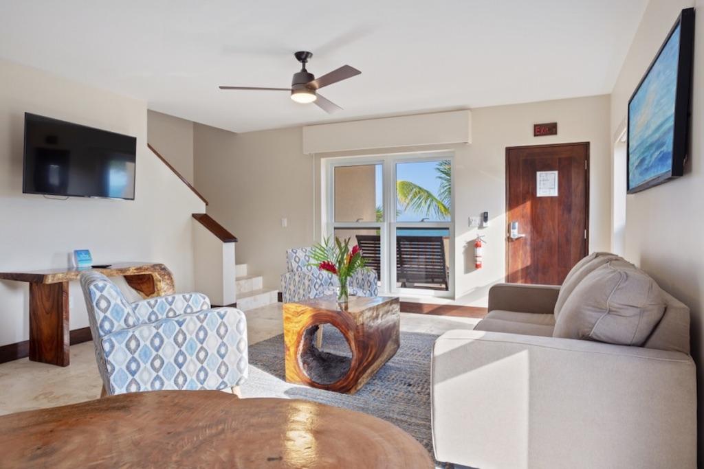 Pelican-Bungalow-Downstairs-Living-Area-2-Sirenian-Bay-Luxury-Vacation-Rental-Belize-55